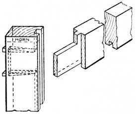 Application of Haunched Tenon Joint to Door ...  sc 1 st  Weird-Wood & WeirdWood: The Mortise and Tenon Joint