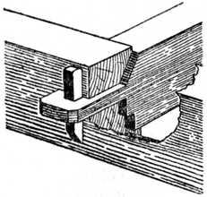 Fig. 153.—Wedged Tusk Tenon.