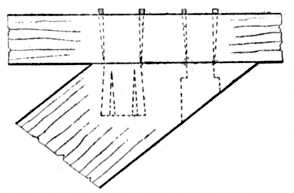 Fig. 174.—Inserted Tenons.